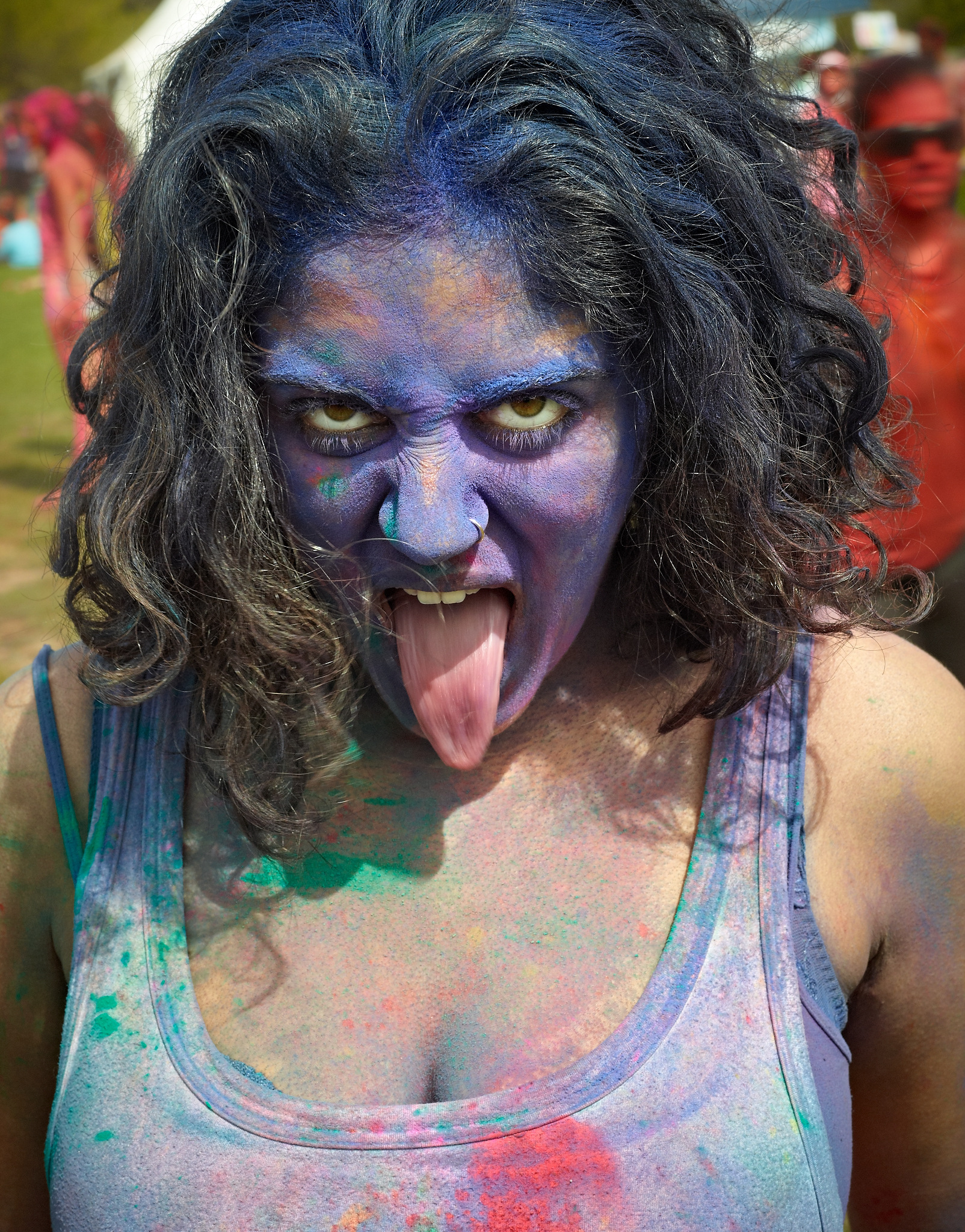 Asha Holi Festival of Colors 2012 by Peter Adams.