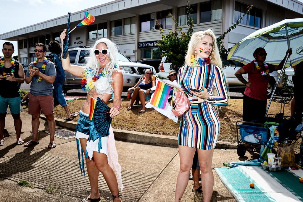 kauai, LGTBQ, pride parade.